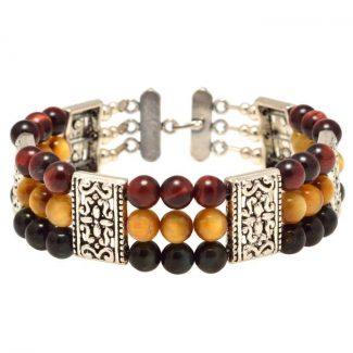 Healing Stones for You - Triple Bracelet